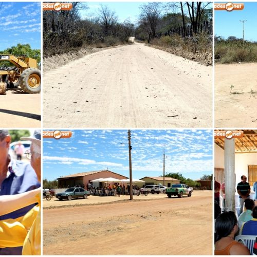 PIO IX 130 ANOS│Gestão da prefeita Regina Coeli investe em obras de recuperação de estradas na zona rural; fotos