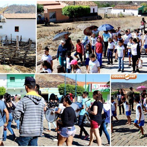 Em Santana, alunos realizam primeiro ensaio para o Desfile Cívico de 07 de setembro; veja fotos