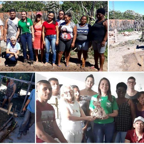 SENAR promove curso de implantação e manejo de hortaliças para artesãos de Ipiranga do Piauí