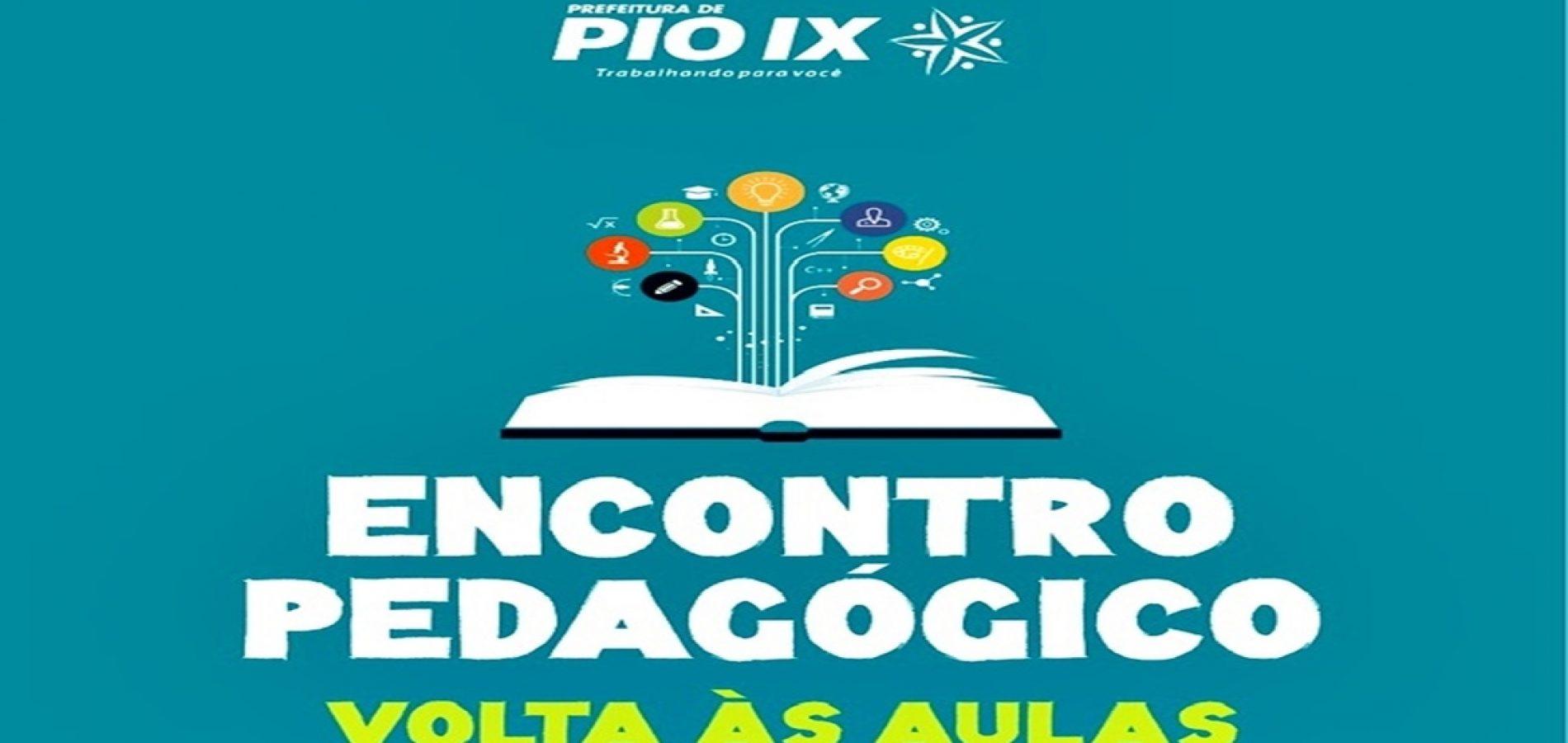 Educação de Pio IX realizará Encontro Pedagógico nesta sexta e sábado. Veja programação!