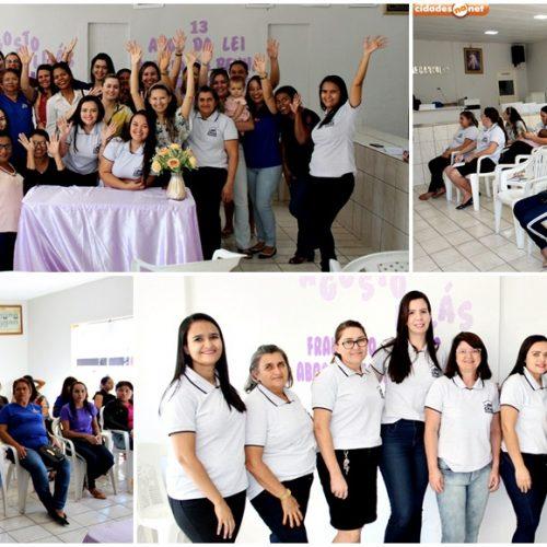 Assistência Social de Francisco Macedo promove mesa redonda sobre a campanha ´Agosto Lilas`