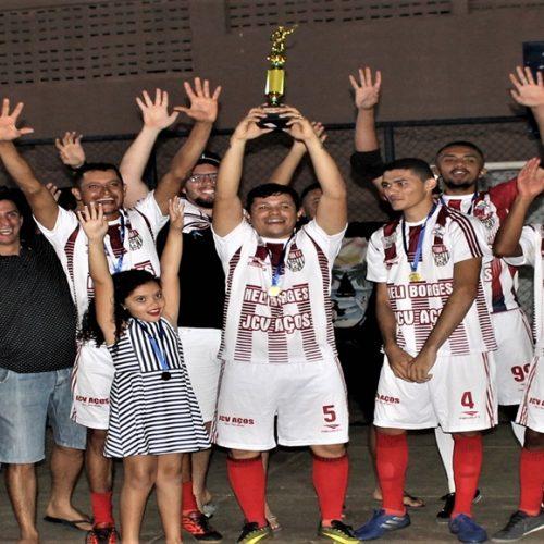 Veteranos vence 2º Campeonato de Futsal de Santana do Piauí