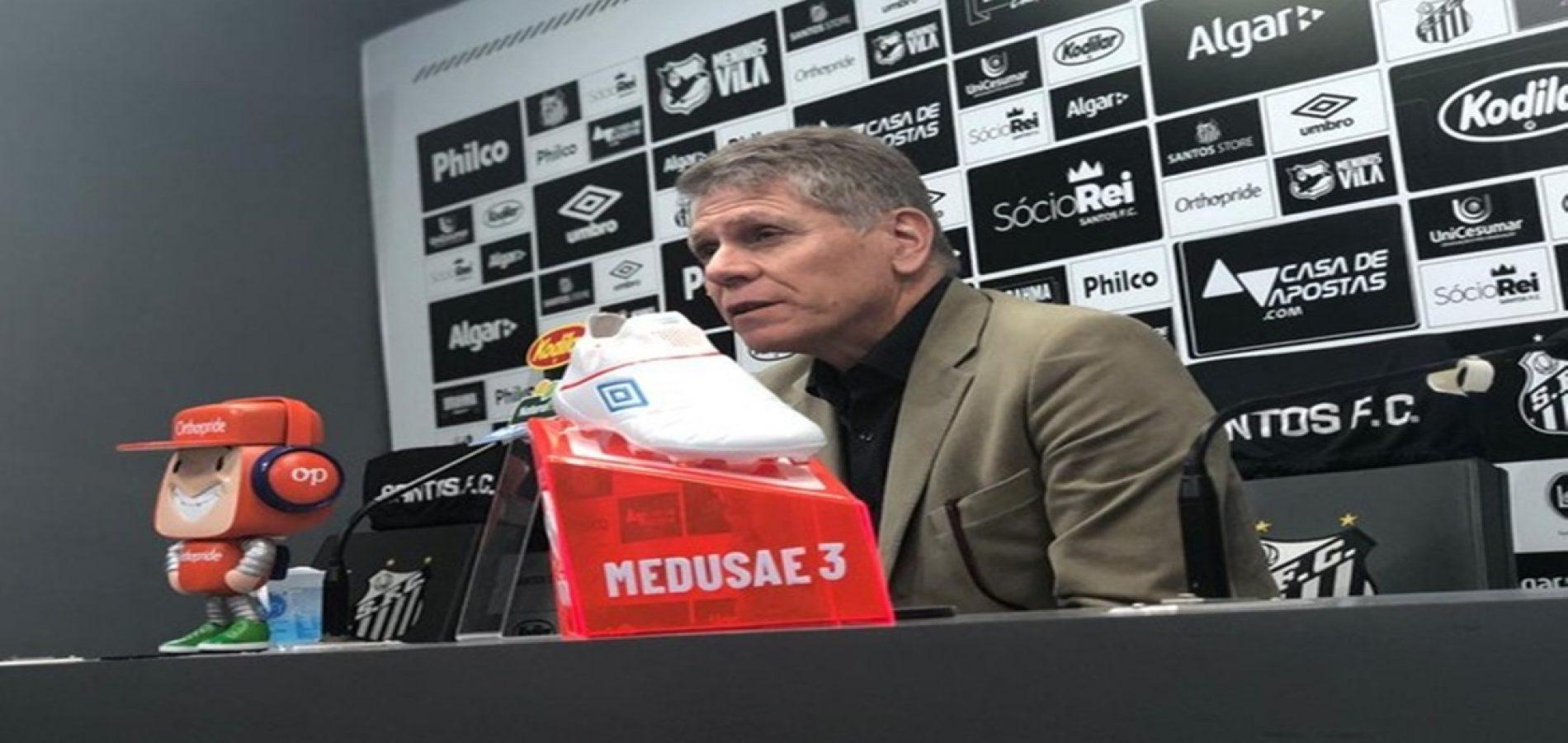 """Autuori chama de """"fogo de artifício"""" aproximação do Santos a Neymar: """"Não vendo ilusões"""""""