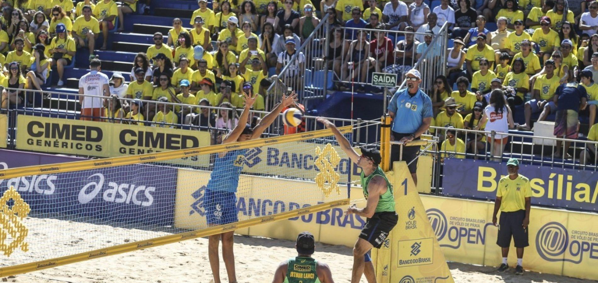 Piauienses disputam Circuito Brasileiro de Vôlei de Praia
