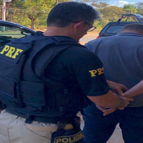 Acusado de furto qualificado é preso em rodovia no Piauí durante fiscalização da PRF
