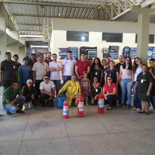 Prevenção de incêndio e primeiros socorros são temas de curso no Campus de Picos