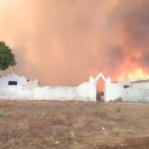 Prefeito de Sussuapara alerta para chegada de novo incêndio