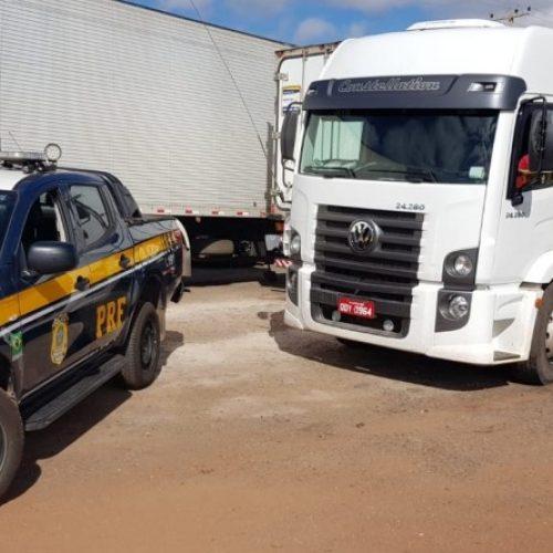 IPIRANGA-PI | PRF recupera caminhão roubado há quatro anos em SP