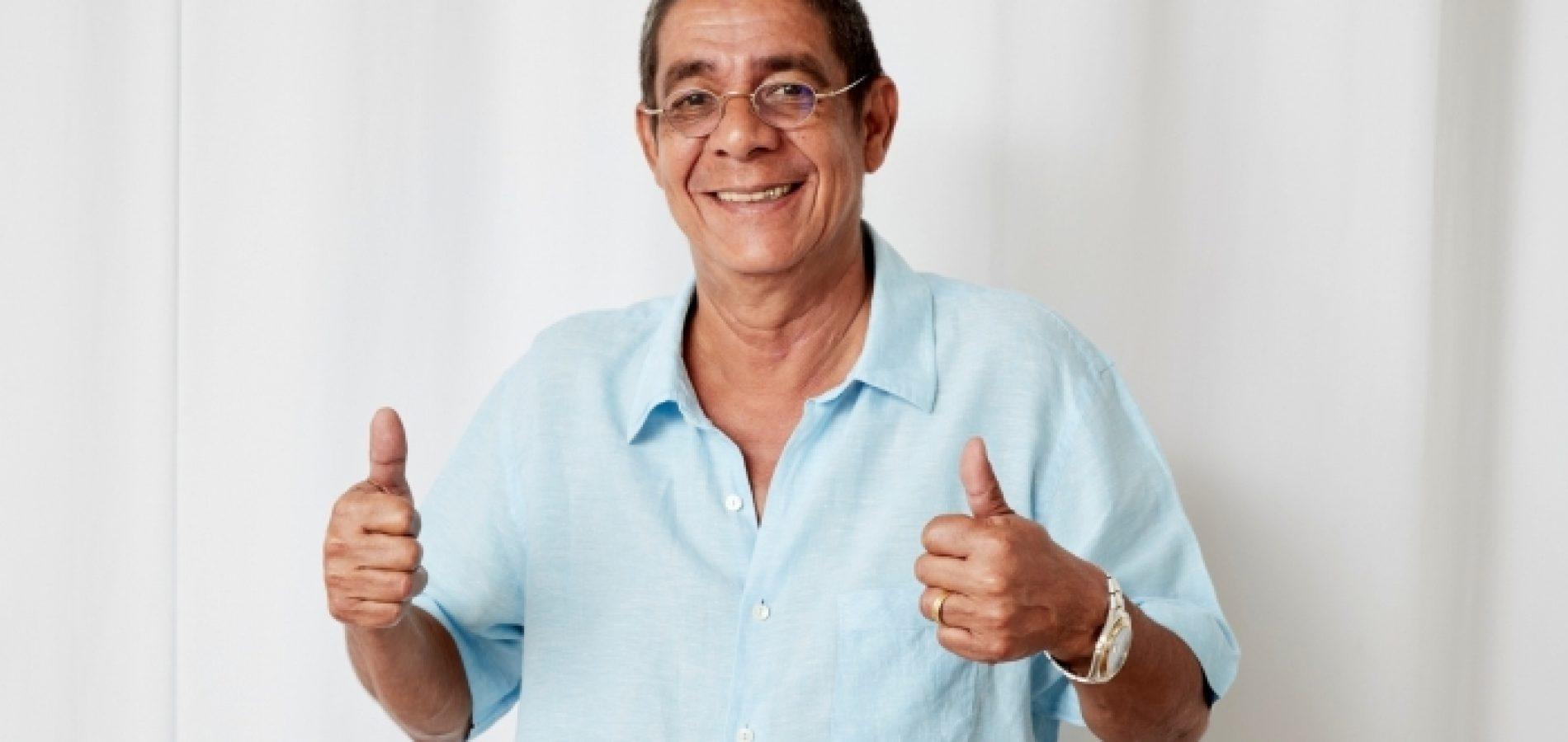 'Estou bem vivo!', esclarece Zeca Pagodinho após boatos de morte