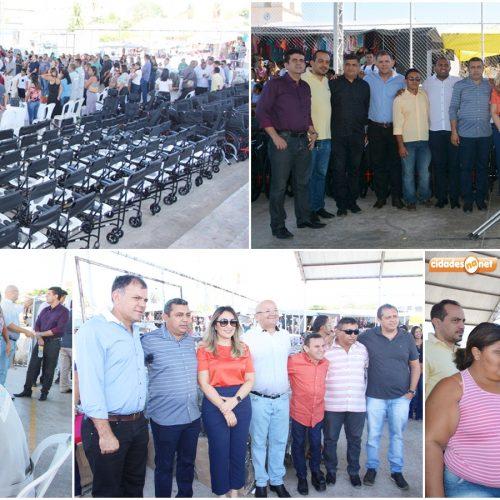 FOTOS | Entrega de equipamentos da Oficina Ortopédica do Centro Integrado de Reabilitação, em Jaicós