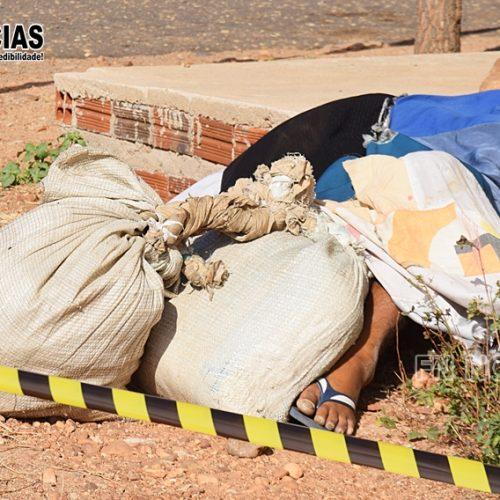 Homem não identificado é encontrado morto na cidade de Paulistana