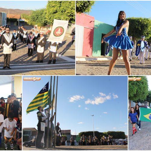 Prefeitura de Caldeirão Grande realiza Desfile Cívico e abertura dos Jogos da Independência