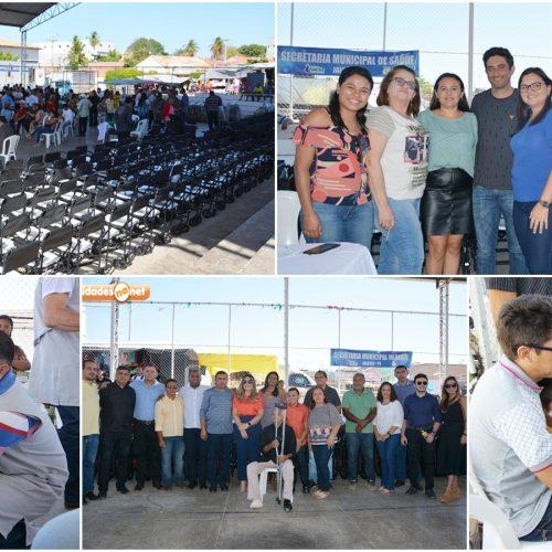 Centro Integrado de Reabilitação realiza entrega de 1067 equipamentos e beneficia Jaicós e mais 9 municípios