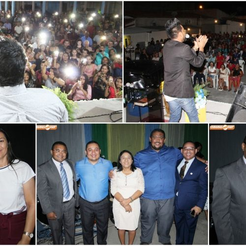 JAICÓS | O Brasil para Cristo realiza evento evangelístico com a participação dos cantores Welington e Erismar Camargo