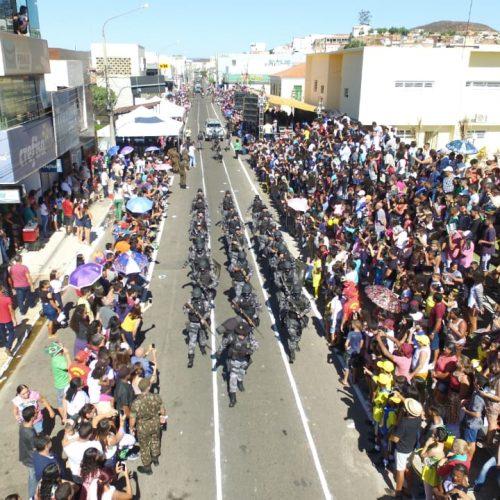 Confira as fotos do Desfile da Independência em Picos