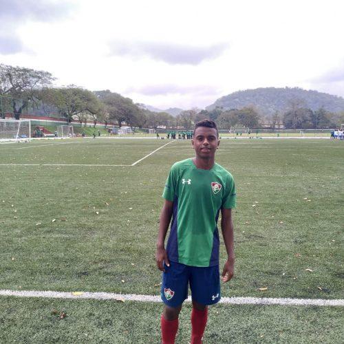 Jogador marcolandense fará parte da categoria de base do Fluminense