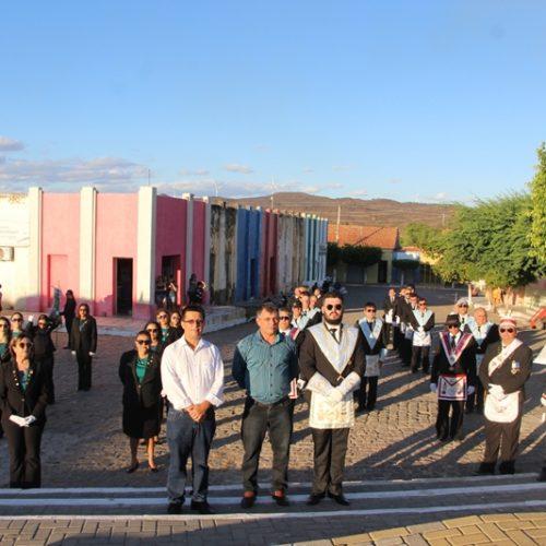 Veja as fotos do Desfile Cívico e abertura dos Jogos da Independência em Caldeirão Grande do Piauí