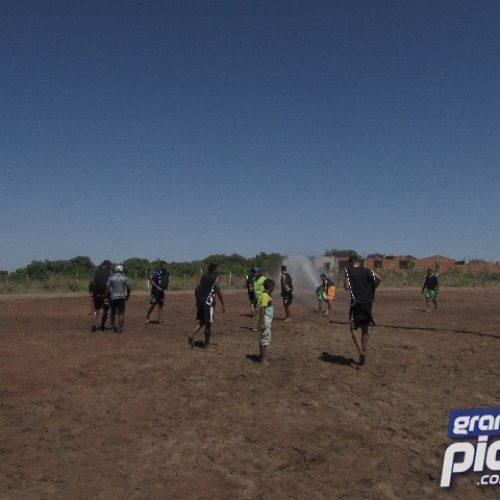 Prefeito Erculano apoia torneio de futebol de areia no povoado Cacimbinha