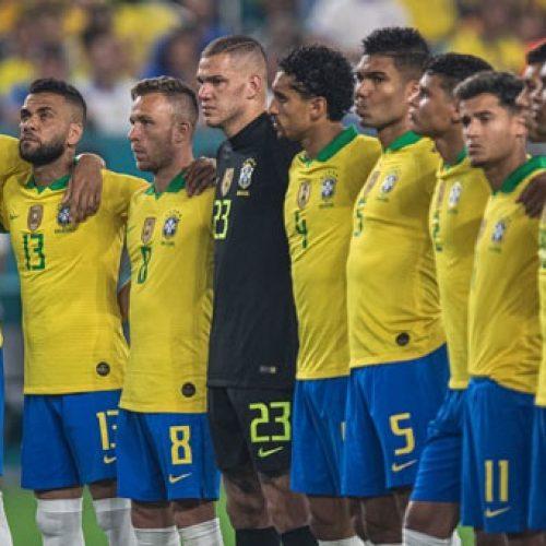 Sem vitória em amistosos, Brasil cai no ranking e perde o 2º lugar para França