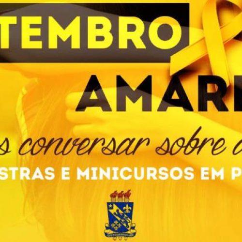 SETEMBRO AMARELO | Cursos da Uespi de Picos preparam atividades de valorização da vida