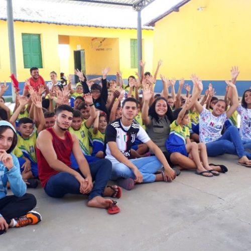 Adolescentes do NUCA de Belém do Piauí desenvolvem ações de inclusão escolar