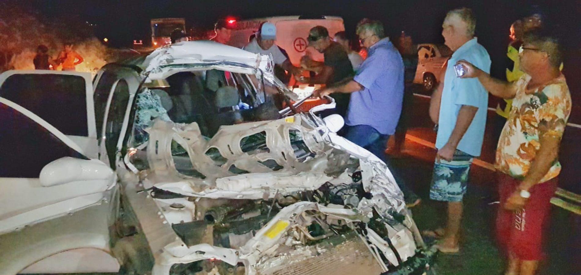 Morre a quarta vítima do acidente na BR 407; motorista não resistiu