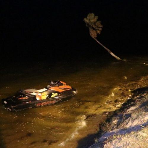 Mulher desaparece após acidente com jet ski no Piauí