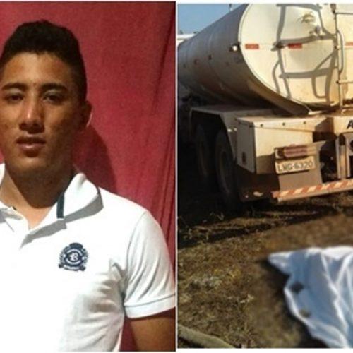 Caminhão esmaga a cabeça de jovem que ajudava a apagar incêndio no Piauí