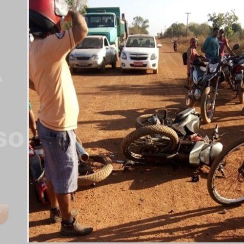 Homem morre e outro perde a perna em acidente com motocicletas no Piauí