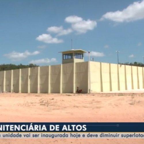 Cadeia Pública de Altos é inaugurada e receberá presos provisórios