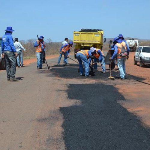 Governo retoma obras da rodovia que dá acesso a Itainópolis