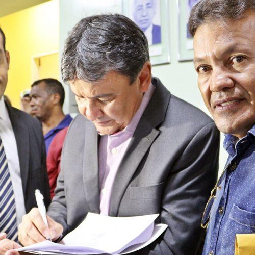 CAMPO GRANDE   Prefeito Baiá solicita ambulância e viatura ao governador W. Dias