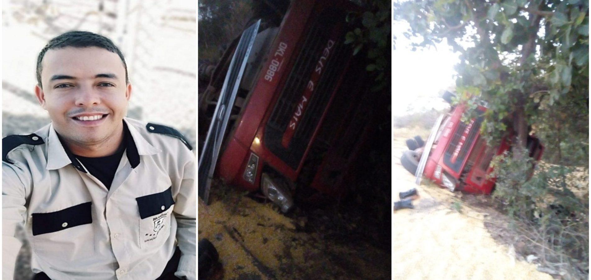 Motorista de Marcolândia morre em acidente com carreta em Uruçui