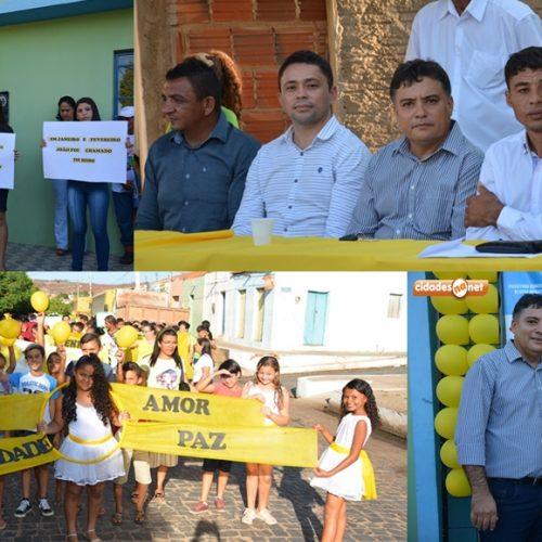 Prefeitura de Vera Mendes promove caminhada do Setembro Amarelo pela valorização da vida