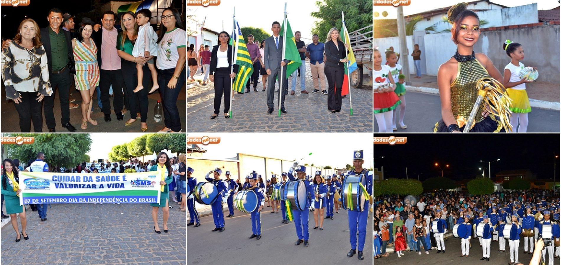 Caridade do Piauí, em espírito de patriotismo, realiza Desfile Cívico