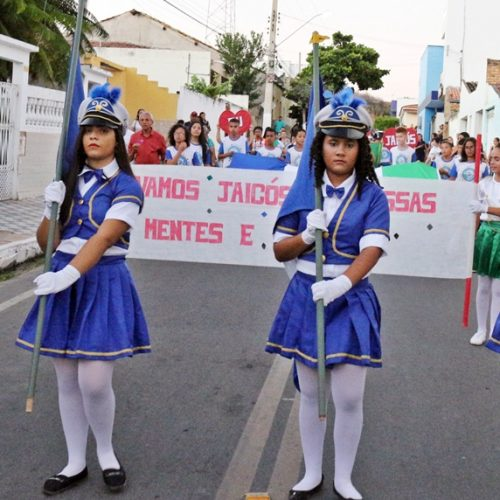 Desfile cívico resgata a história de Jaicós e celebra Dia da Independência do Brasil