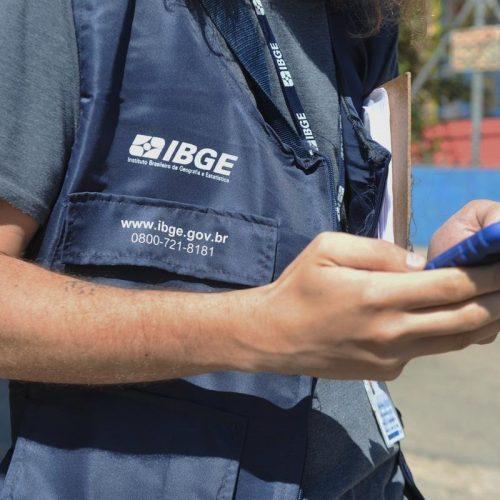 IBGE abre processo seletivo com 2.600 vagas para o Censo 2020