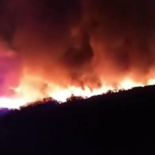 Incêndio atinge residências na divisa entre o Piauí e o Ceará