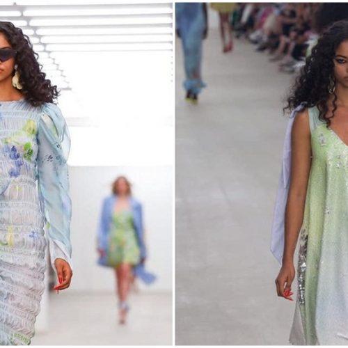 Modelo piauiense desfila em Londres e vira destaque no cenário da moda; fotos