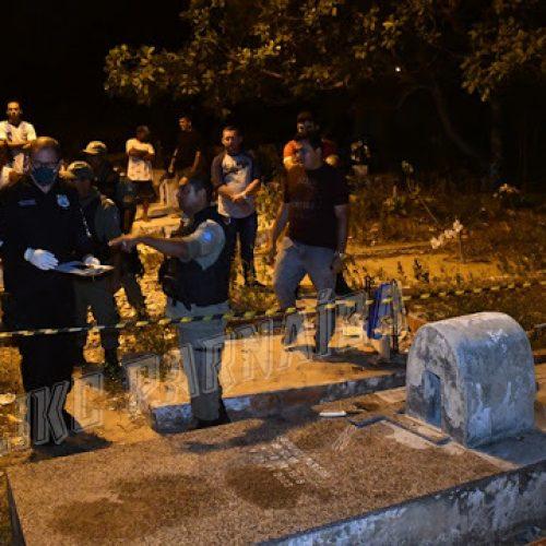 Homem é executado a tiros, pedradas e facadas dentro de cemitério no Piauí