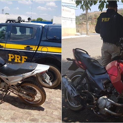 PRF recupera no PI motocicleta roubada há 3 anos em São Paulo