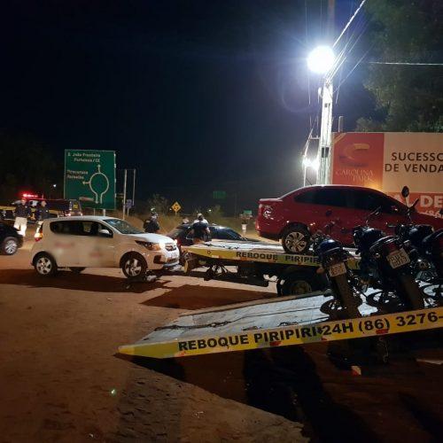 Operação da PRF na BR-343 flagra diversos condutores alcoolizados no Piauí