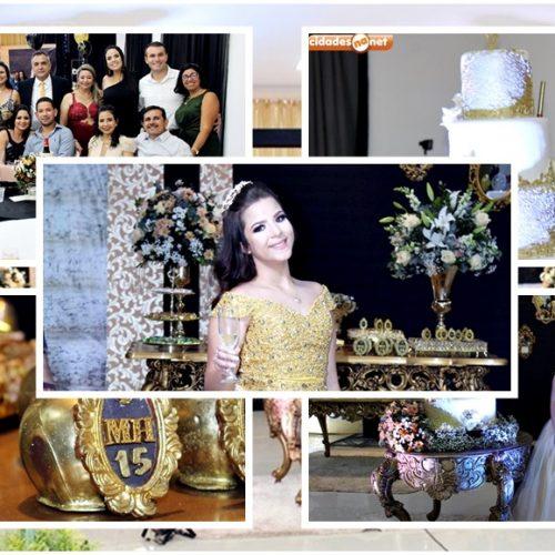 GENTE EM EVIDÊNCIA│Maria Helena celebra aniversário de 15 anos com familiares e amigos em noite glamourosa; fotos