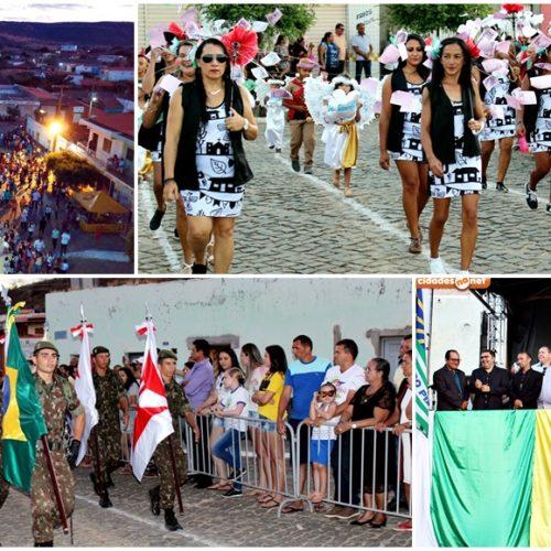 Gestão da prefeita Maria José em Santana do Piauí realiza Desfile Cívico de 7 de Setembro; veja fotos