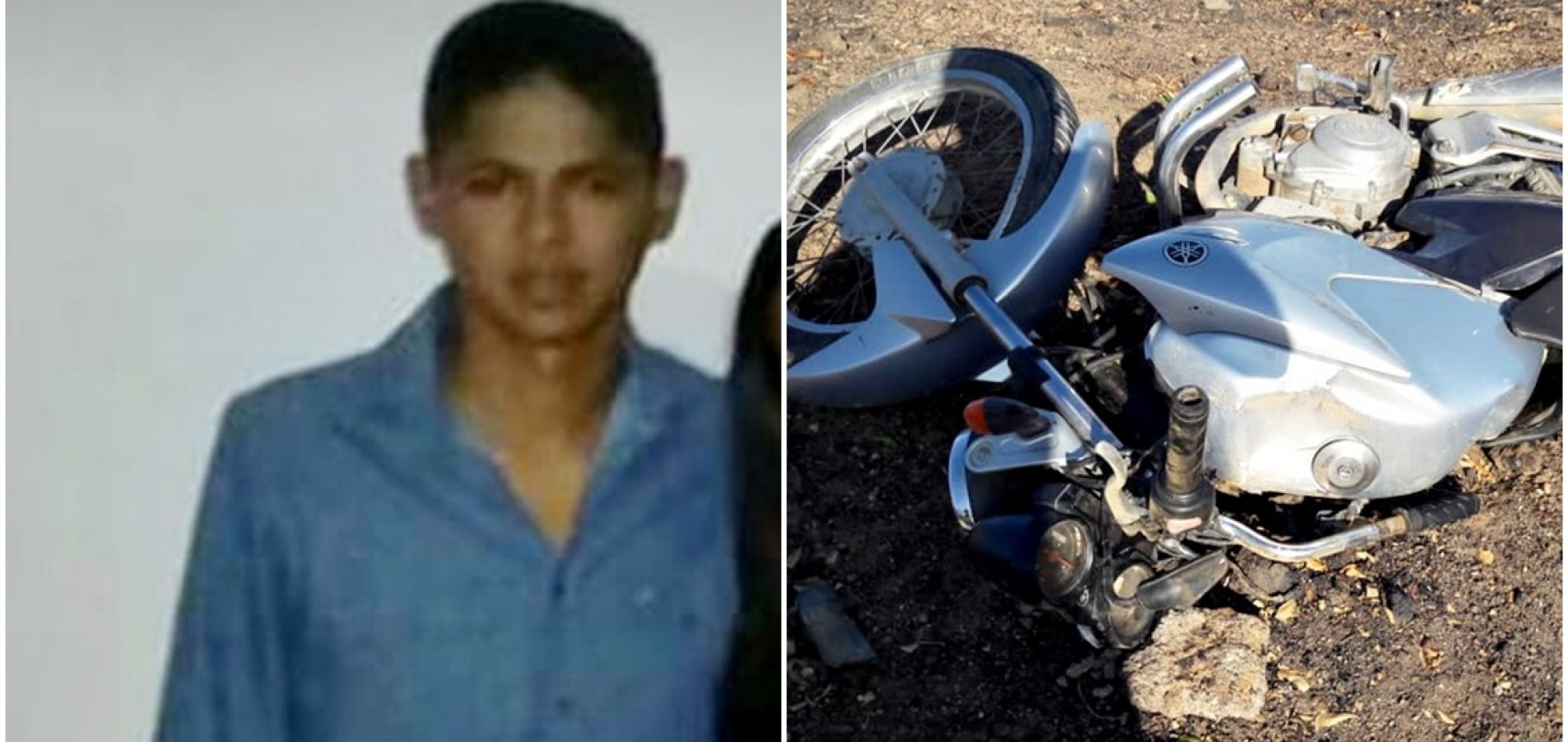 Jovem de apenas 17 anos morre em acidente na BR-316 na zona rural de Francisco Santos