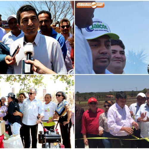 Dep. Federal Flávio Nogueira visita Itainópolis e Jaicós inaugura obras e anuncia investimentos; veja fotos