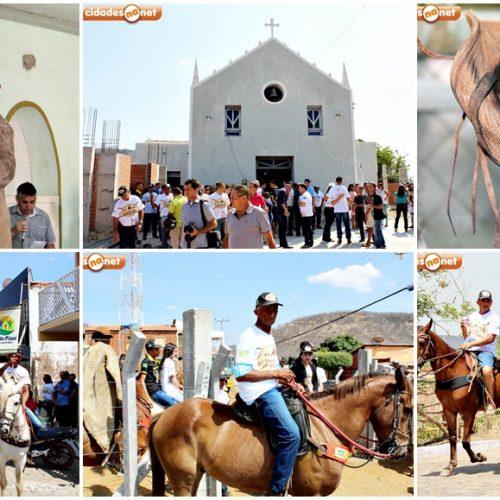 Missa, cavalgada, sorteio de brindes e show com Karlla Thalyta celebram a Festa do Vaqueiro em Santana do Piauí; veja fotos