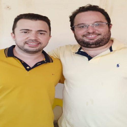 BOCAINA│Gilberto Filho é pré-candidato a vice do prefeito Erivelto Sá para as eleições municipais 2020