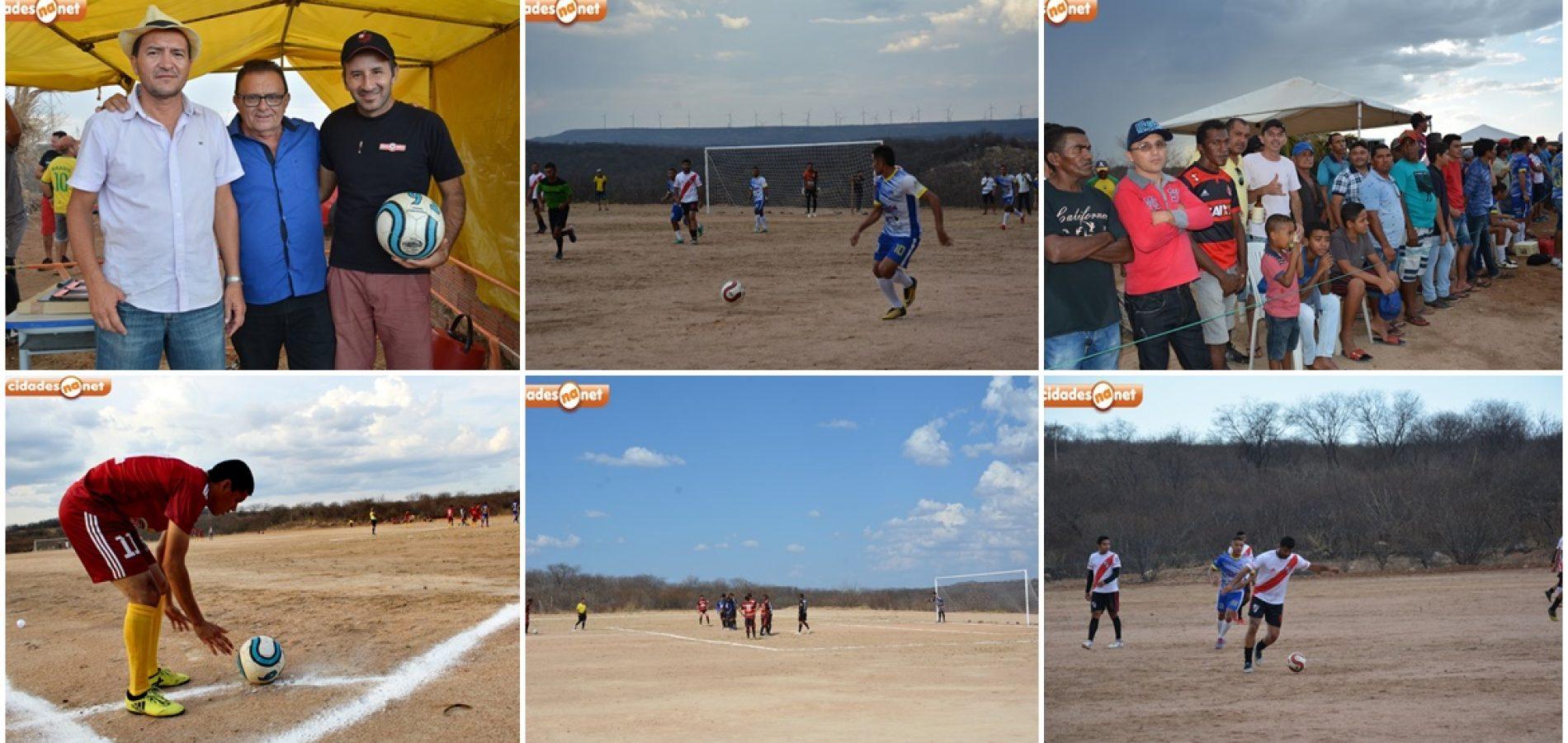 I Campeonato Intermunicipalde Futebol é aberto em Francisco Macedo e premiação chega a R$ 7 mil; veja fotos