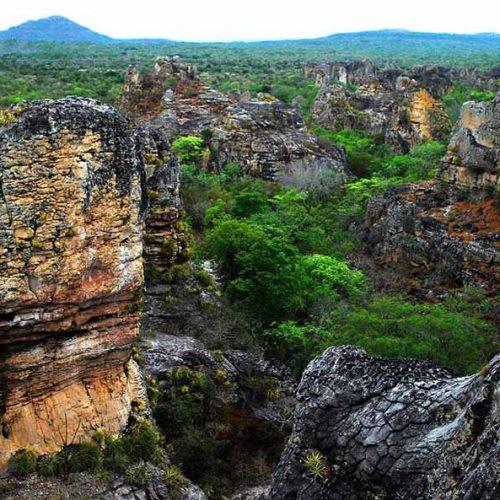 Idepi retoma obra que facilitará acesso ao Parque Nacional de Sete Cidades